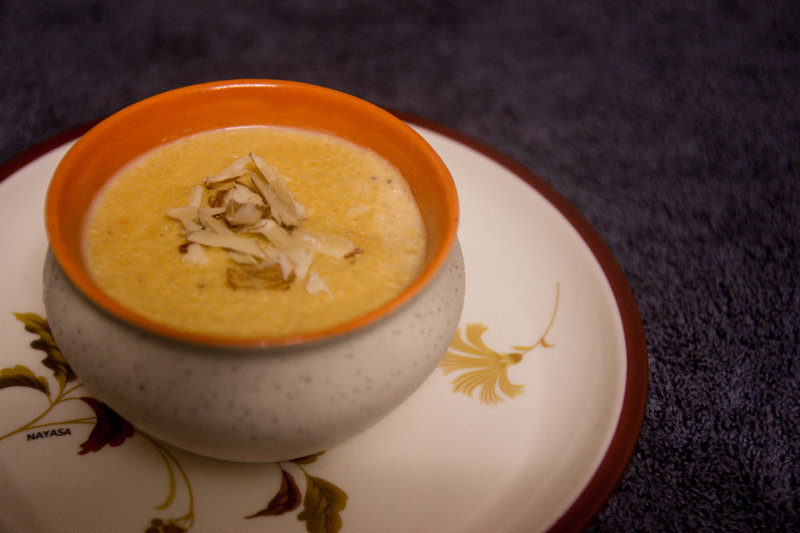 how to make phirni with rice flour