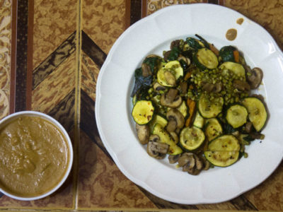 Gado Gado-Salad with Peanut sauce