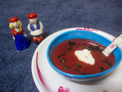 Beetroot and Vegetables Soup