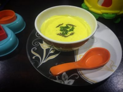 Corn Potage-Soup with twists